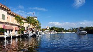 Waterfront properties in Florida.