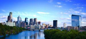 Philadelphia city view.