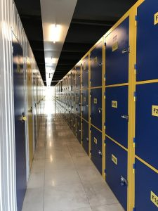 Micro storage lockers that are a good solution if you want to save money when hiring storage.