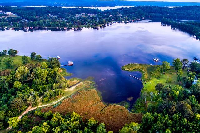 Lake in Alabama