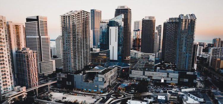 Buildings in Brickell