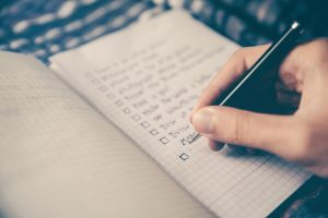 checklist to organize all moving day concerns